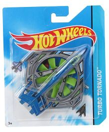 Hot Wheels Turbo Tornado Airplane - Green Grey