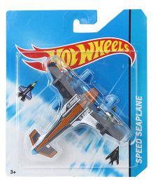Hot Wheels Speed Seaplane - Grey Orange