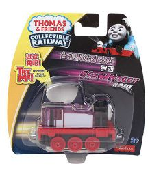 Thomas & Friends Collectible Railway Glow Racer Rosie - Red Purple