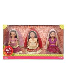 Barbie Kelly In India Doll - Pack Of 3