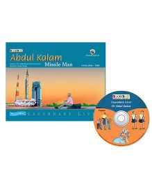 Abdul Kalam Missile Man Book And CD - English