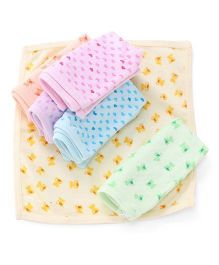 Simply Napkins Multi Print Pack Of 6 - Multi Color