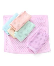 Simply Napkins Dots Print Pack Of 6 - Multi Color