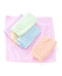 Simply Napkins Stars Print Pack Of 6 - Multi Color