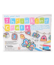 4M Make Your Own Shrinking Craft  - Multi Color