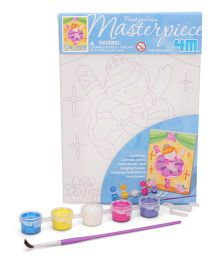 4M Paint Your Own Masterpiece Ballerina Theme - Multi Color
