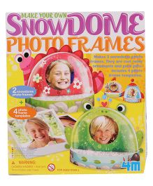 4M Snow Dome Photo Frames - Multi Color