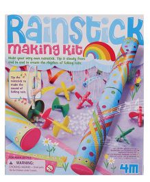 4M Rainstick Making Kit - Multi Color