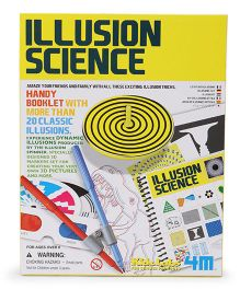 4M Kidz Labs Illusion Science - Multi color