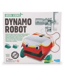 4 M Green Science Dynamo Robot - Multi Color