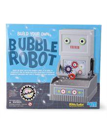 4M Kidz Labs Bubble Robot - Grey
