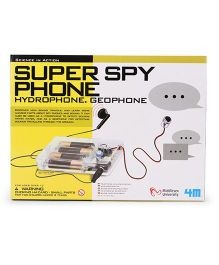 4M Science in Action Super Spy Phone - White