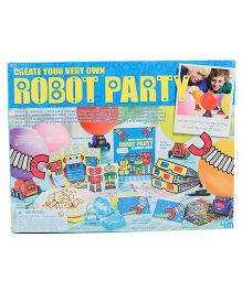 4M Create Your Own Robot Party