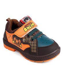 Chhota Bheem Casual Shoes - Orange & Brown