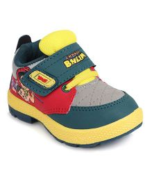 Chhota Bheem Casual Shoes - Green & Light Yellow