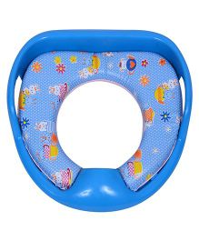 Dash By ARK Potty Training Cushioned Toilet Seat With Handle - Blue