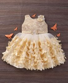 M'Princess Gorgeous Party Wear Dress - Peach