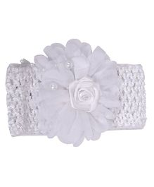 Mauve Collection Cute & Trendy HeadBand - White