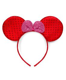 Mauve Collection Cute Special Headband - Red