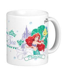 Disney Princess Ariel the Mermaid Mug Multicolor - 325 ml