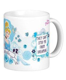 Disney Princess Cinderella Mug Multicolor - 325 ml