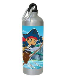 Captain Jake And The Neverland Water Bottle Blue