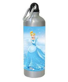Disney Princess Cinderella Water Bottle Blue