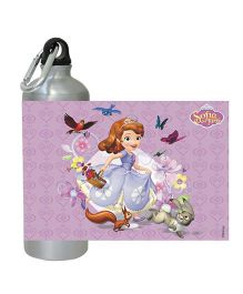 Sofia The First  Water Bottle Purple - 450 ml