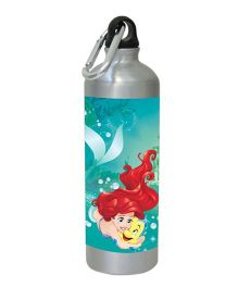 Disney Princess Ariel the Mermaid Water Bottle Green - 450 ml