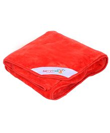 Berrytree Baby Blanket - Red