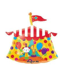 Bling it On Circus Tent Balloon - Yellow