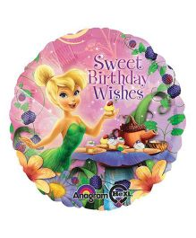 Bling It On Tinker Bell Birthday Wishes Balloon - Multi Color