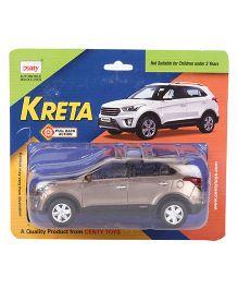 Centy Pull Back Kreta Car - Brown