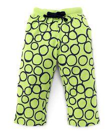 Fido Full Length Printed Leggings - Green