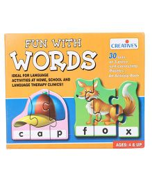 Creative's-Fun With 3 Letter Words Puzzle