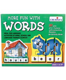 Creative Puzzles More Fun With Words - 30 Sets