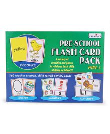 Creative's Pre School Flash Card Pack I - 160 Cards
