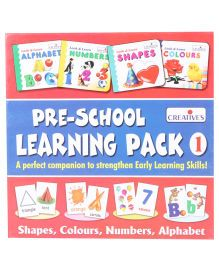 Creative Pre School Learning Pack 1 - Multicolor