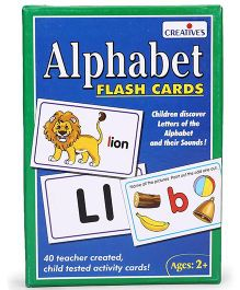 Creative Alphabet Flash Cards - 40 Cards