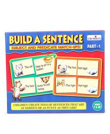 Creative's Build A Sentence Subject And Predicate Match Ups Part 1