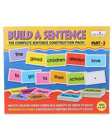 Creative Build A Sentence The Complete Sentence Construction Pack Part 3