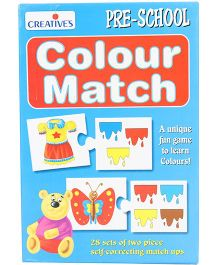 Creative's Pre School Colour Match Puzzle - 28 Pieces