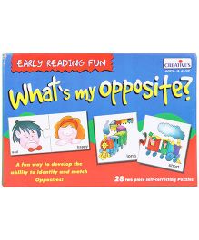 Creative's Pre School What's My Opposite Puzzle - 28 Pieces