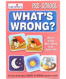 Creative's Pre School What's Wrong Puzzles - 28 Pieces