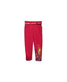 FS Mini Klub Trouser With Belt Fairy Print - Pink