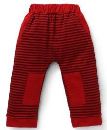 Mini Taurus Striped Track Pant - Red