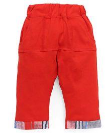 Mini Taurus Full Length Pants - Red