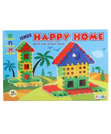 Fair Ind Jumbo Happy Home Multicolor - 38 Pieces