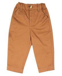 ShopperTree Full Length Pant - Brown