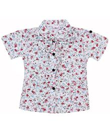 Half Sleeves Top - Flowers